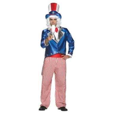 Amerika carnavalspak uncle sam