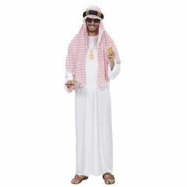 Arabieren carnavalspak sjeik heren