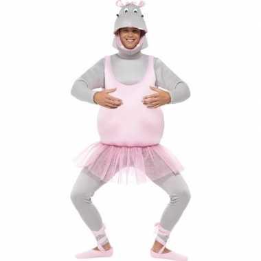 Ballet nijlpaard carnavalspak volwassenen