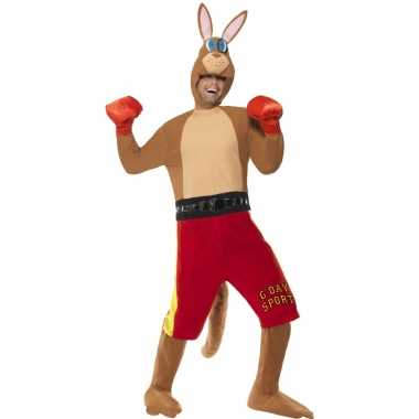 Boksende kangoeroe carnavalspak
