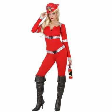 Brandweer carnavalspak dames