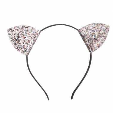 Carnavals katten oren glitters