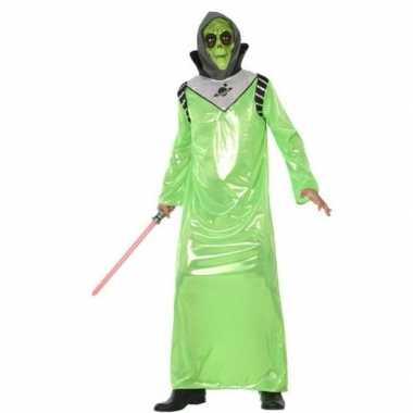 Carnavalspak alien/buitenaards wezen volwassenen