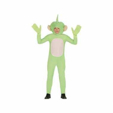 Carnavalspak alien carnavalspak groen