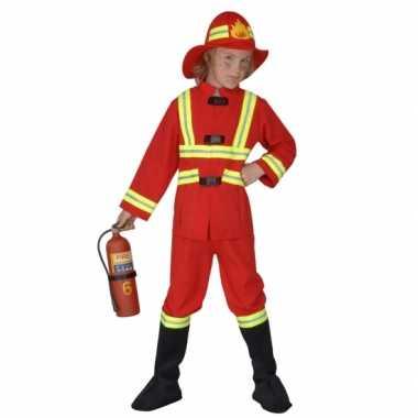 Carnavalspak brandweerpak kind