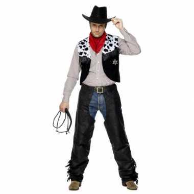 Carnavalspak cowboy pak heren