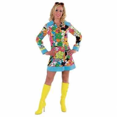 Carnavalspak hippie jurk dames