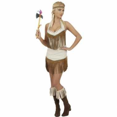 Carnavalspak indianen jurkje