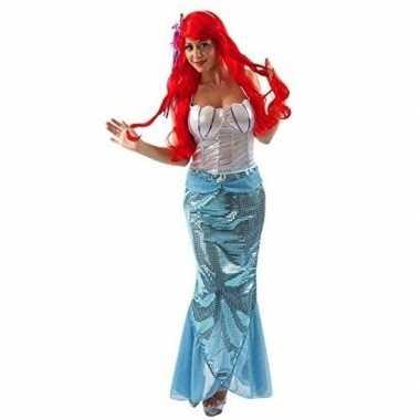 Carnavalspak kleine zeemeermin dames