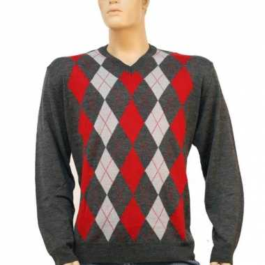 Carnavalspak luxe heren pullover