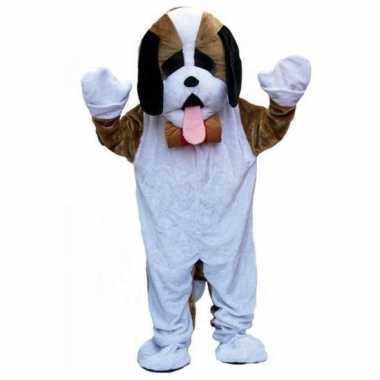 Carnavalspak luxe pluche hond carnavalspak