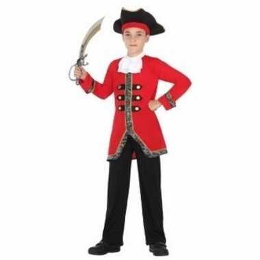 Carnavalspak piratenpak jongen
