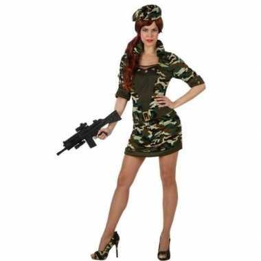 Carnavalspak soldaat/militair dames