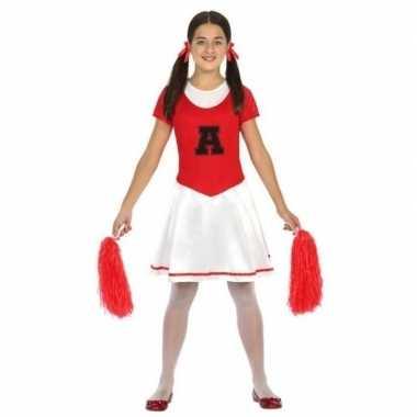 Cheerleader carnavalspak meisjes