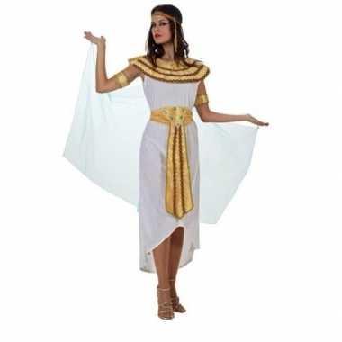 Cleopatra carnavalspak/set wit dames