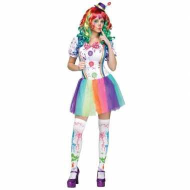 Clowns carnavalspak compleet dames