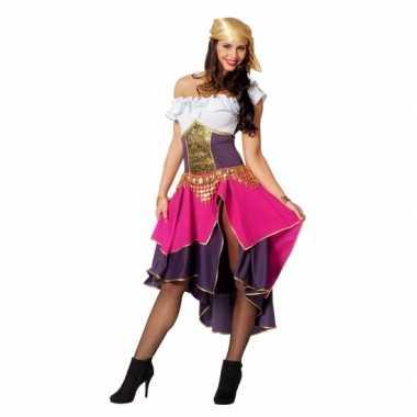 Compleet zigeunerin carnavalspak dames