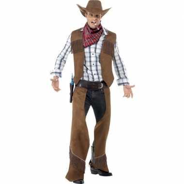 Cowboy carnavalspak heren 10110821