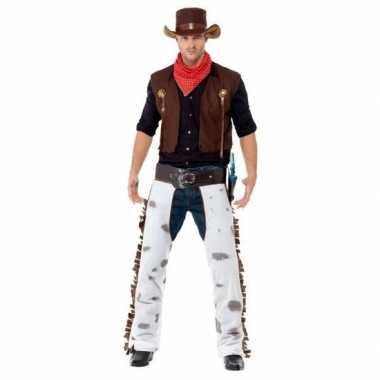 Cowboy carnavalspak heren