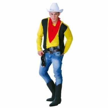 Cowboy carnavalspak mannen