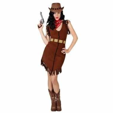 Cowgirl carnavalspak dames