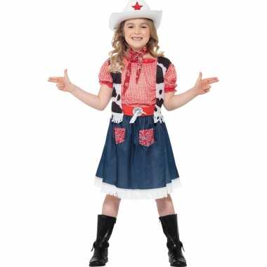 Cowgirl carnavalspak meisjes