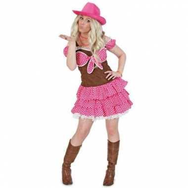 Cowgirl dolly carnavalspak dames