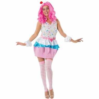 Cupcake carnavalspak dames