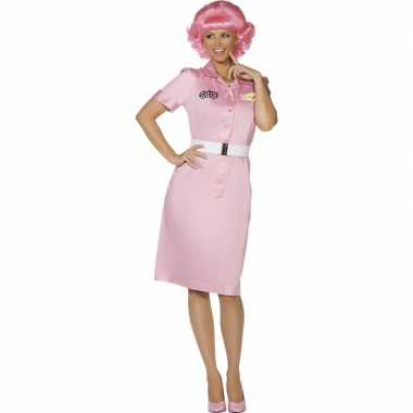 Dames grease carnavalspak frenchy