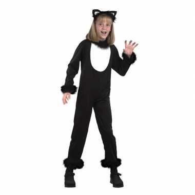 Dieren carnavalspak kat/poes kinderen