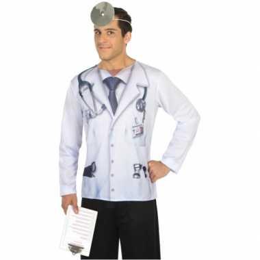 Dokter shirt verkleedcarnavalspak