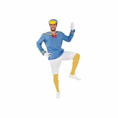 Donald eenden carnavalspak mannen