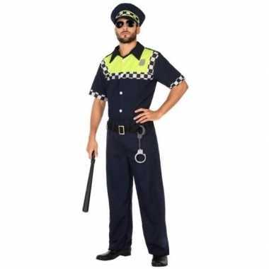Engelse politie carnavalspak volwassenen