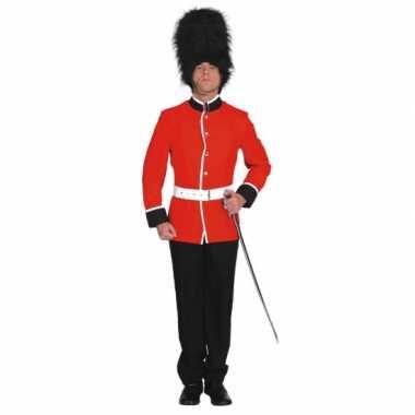 Engelse soldaat carnavalspaks volwassenen
