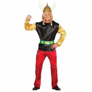 Feest gallier verkleed carnavalspak asterix