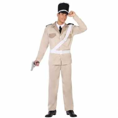 Franse gendarmerie/politie carnavalspak volwassenen