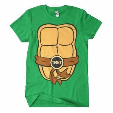Fred ninja turtle shirt carnavalspak volwassenen