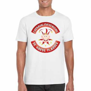 Fun t shirt brabantse carnavalsvereniging wit heren