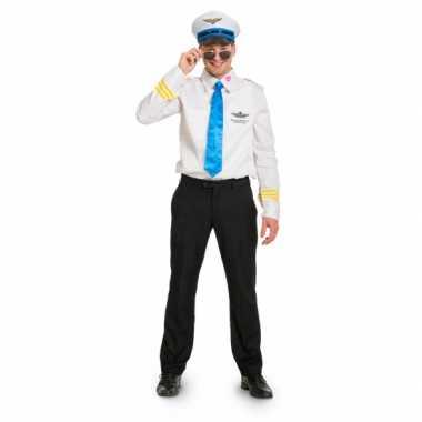 Funny piloot carnavalspak heren