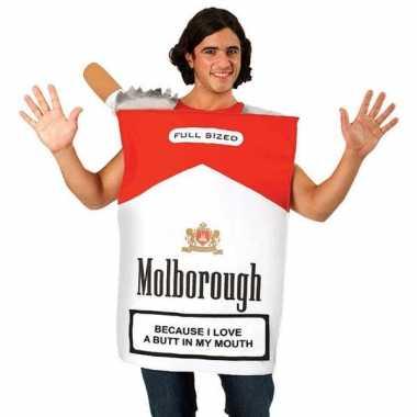 Funny sigaretten pakje carnavalspak