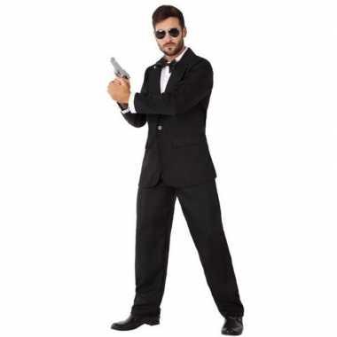Geheim agent/spion carnavalspak heren
