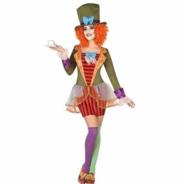 Goedkoop clown carnavalspak dames