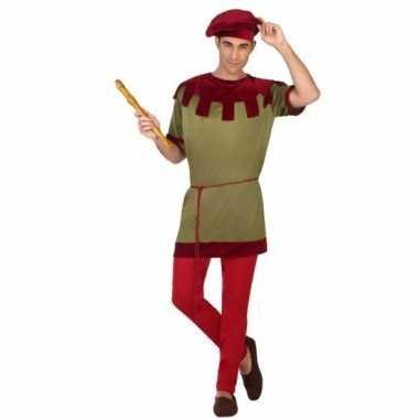 Goedkoop middeleeuws carnavalspak heren