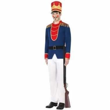 Goedkoop speelgoed soldaat verkleed carnavalspak heren