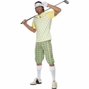 Golfers carnavalspak heren