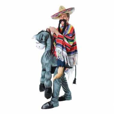 Grappig instap carnavalspak mexicaan