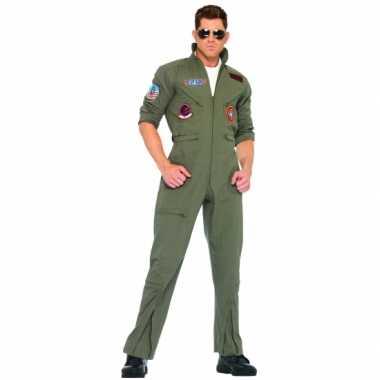 Grote maat piloten carnavalspakl volwassenen
