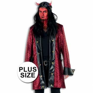Grote maten Halloween carnavalspak duivel