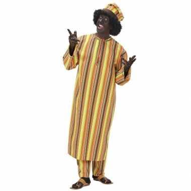 Heren carnavalspak afrika