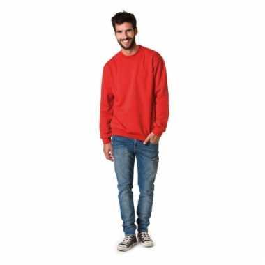Herencarnavalspak sweater ronde hals